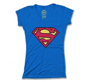 Superman Classic Distressed Logo